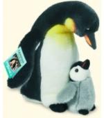 Császárpingvin fiókával
